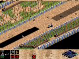 This clever multiplayer AOE scenario pits players against each other in a chariot  race / obstacle course.