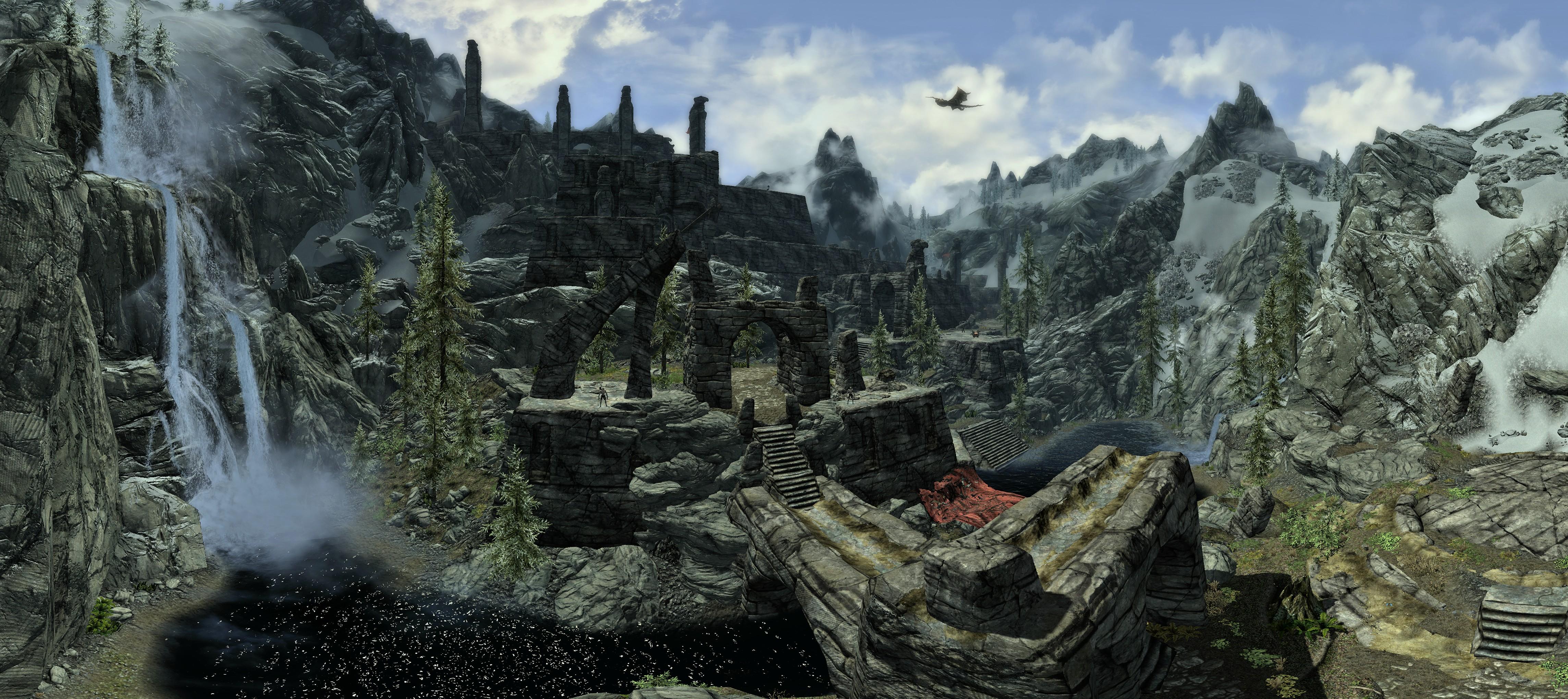 Skyrim Panoramas Snakebyte Studios