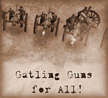 Gatling Guns for All! | SnakeByte Studios